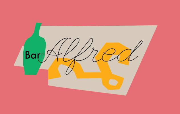 Bar Alfred logo.